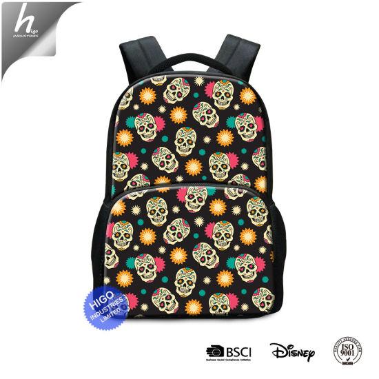 China Vintage Large Capacity Backpacks School Bags for Teenagers