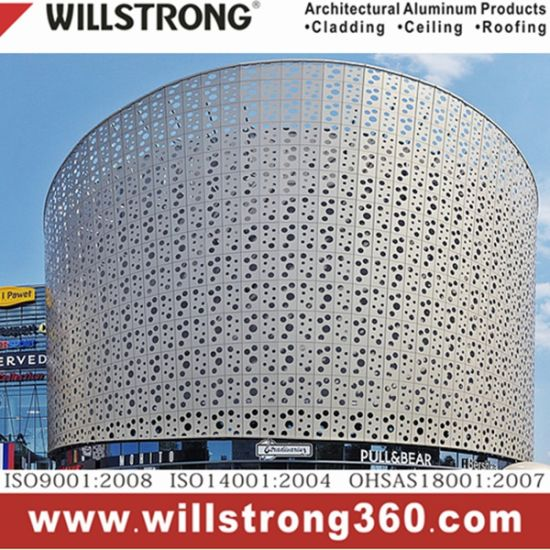 Aluminum Sandwich Panel 4mm Wall Cladding pictures & photos