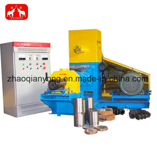 Single Screw Extruder for Pet Food Fish Feed Pellet Machine pictures & photos