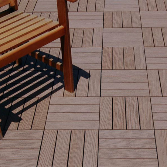 Recycled Plastic Flooring Indoor Outdoor Tile Wpc Interlocking Tiles Pictures Photos