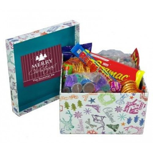 Craft Paper Candy/Sweet Box for Christmas