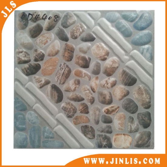 400*400mm Rustic Tile Matte Surface Office Floor Tiles Design