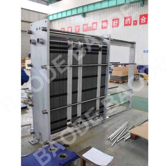High Thermal Efficiency Pasteurization Heat Exchanger for Dairy pictures & photos