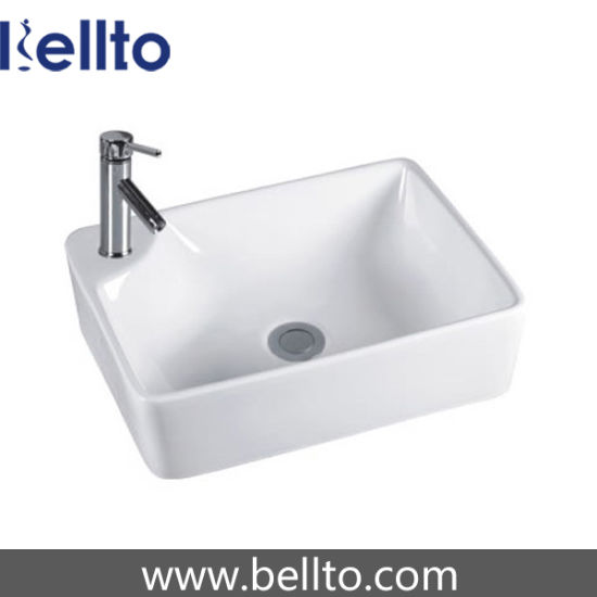 Ceramic Square Vessel Sink (3341) pictures & photos