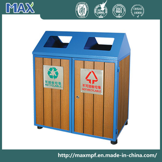 china hot sale durable park wooden recycling bin for school china outdoor waste bin trash bin. Black Bedroom Furniture Sets. Home Design Ideas
