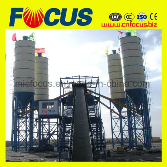 China 120m3/H PLC Control Concrete Batching Plant - China