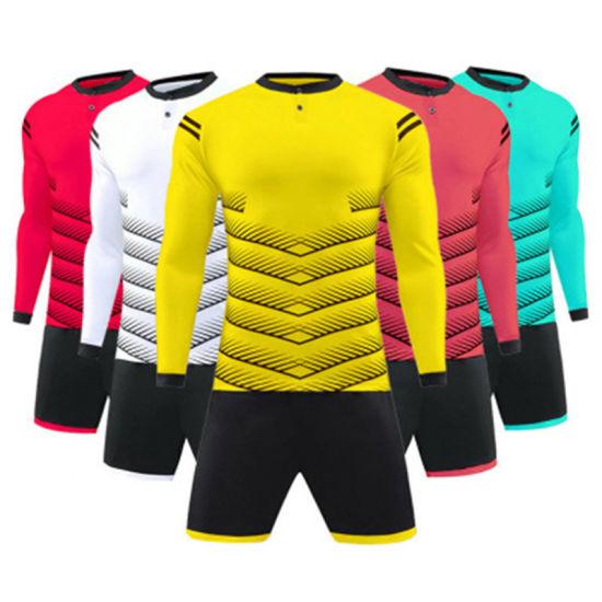 dc1dca6f4 China Guangzhou Manufacturer Wholesale Custom Soccer Uniforms ...