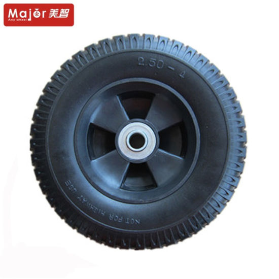 5X1.5 Puncture Proof PU Foam Tyre Baby Carriage Wheel pictures & photos