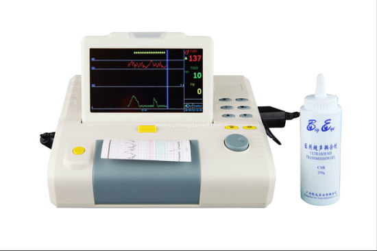 8.4 Inch Digital Portable Medical Machine Ultrasonic Transducer Patient Monitor pictures & photos