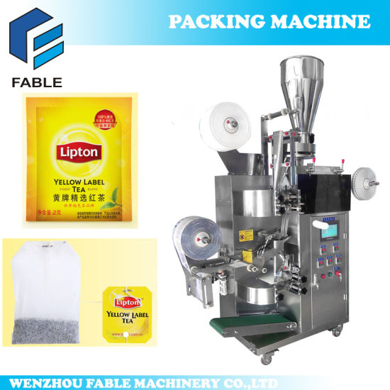 High Speed Inner&Outer Tea Bag Packing Machine Fb-Tea15 pictures & photos