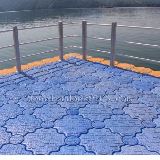 Modular Plastic Floating Bridge Platform in China