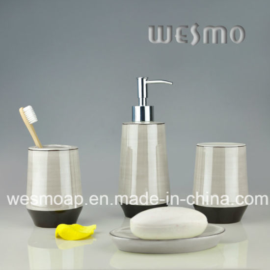 Porcelain Bathroom Set (WBC0618C) pictures & photos
