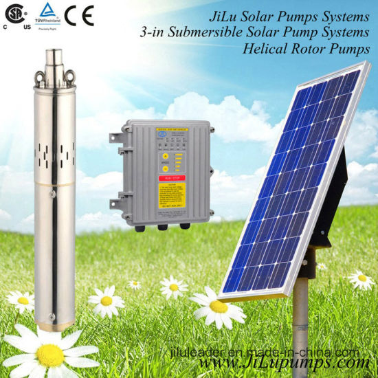 140W-900W Submersible DC Solar Water Pump, Helical Rotor Pump pictures & photos