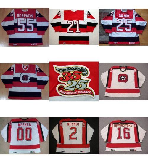 Personalized Ohl Ottawa Jersey Kevin Weekes Craig Custom Hockey Jerseys 62cb401d788