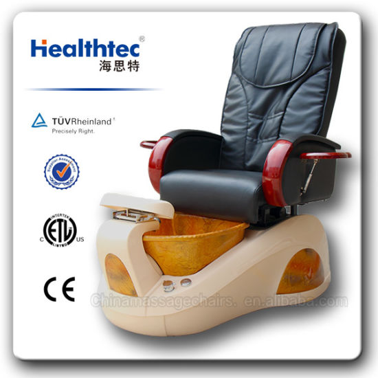 Wholesale SPA Pedicure Massage Chairs with Resin Basin pictures & photos
