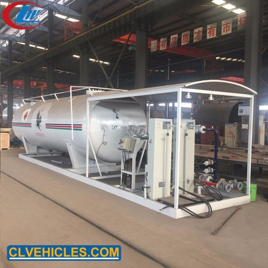 Chengli Manufacturer 25000L Cooking Gas Filling Plant 10tons LPG Filling Station for Nigeria