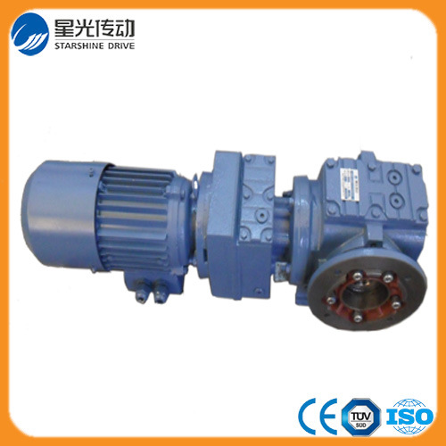 Hollow Shaft Flange Mounted Helical Gearbox