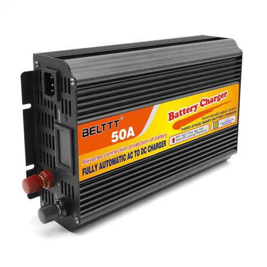 Soft Start Intelligent Control 12V 50A Car Battery Charger