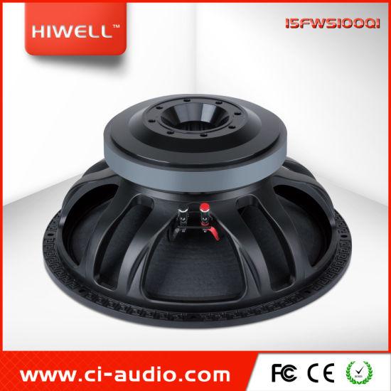 15 Inch Professional Audio 1600watt, outdoor Stage Subwoofer Powered Speaker.