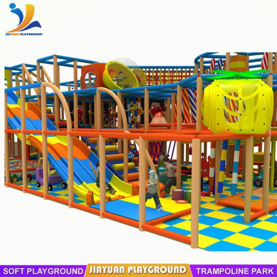 Used Equipment China Kids Indoor Playground