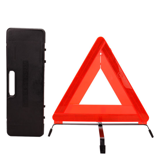 Wholesale Road Safety Red Emergency Reflective Foldable Car Warning Triangle