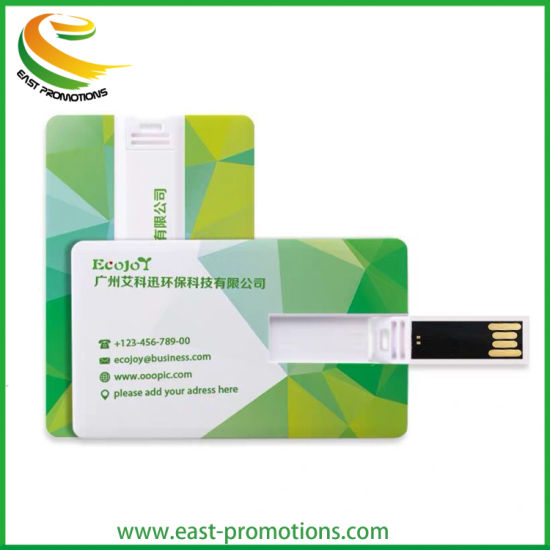 Custom Full Color Printing Credit Card USB Flash Drive Pen Drive for Business Gifts pictures & photos