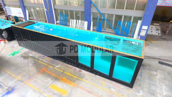 [Hot Item] Factory Price Shipping Container Waterproof Swimming Pool