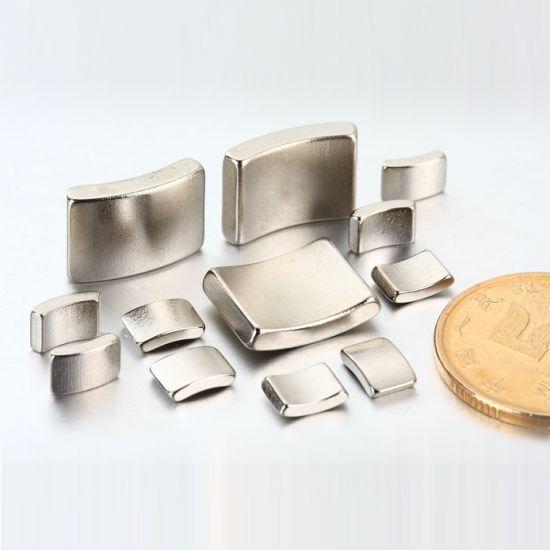 Super Strong Neodymium Arc Magnet for Motor