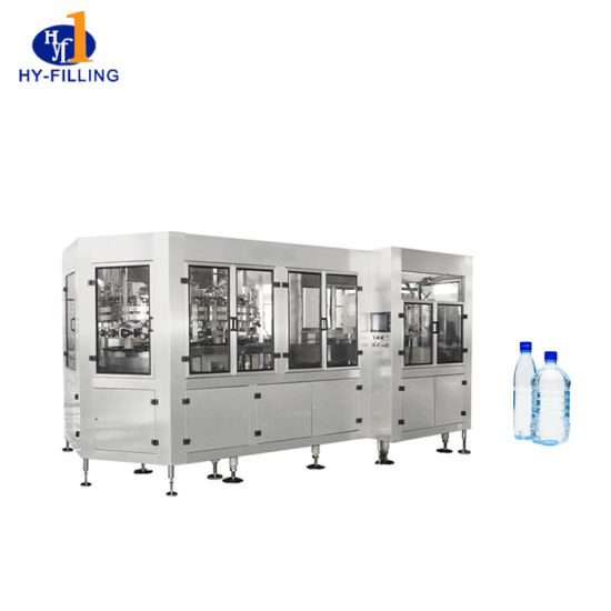 Wholesale Price Mineral Sparking Drink Water Filling Equipment Sealing Machine Production Line