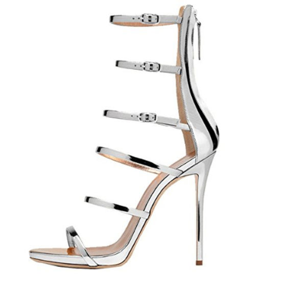 19ff0259e77f Women Sexy Strappy Gladiator Wedding Sandals High Heel Stiletto Shoes  pictures   photos