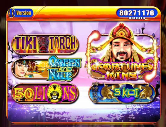 Wholesale Multi Video Arcade Slot Game Machine pictures & photos