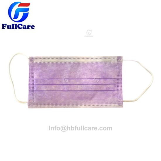 Earloop 3ply Mask Hospital Surgeon Iso Disposable Medical Nonwoven Face Surgical 13485