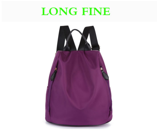 8ef4c7cd6e Ladies Girls Women′s Outdoor Fashion Polyester Nylon Oxford Backpack Bag  for Shopping Travelling