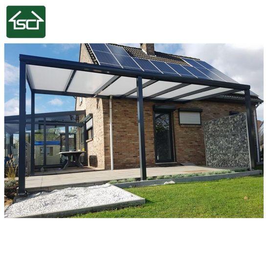 Popular Decorative Aluminum Profile Patio Roof For Terrace Sunshade Awning