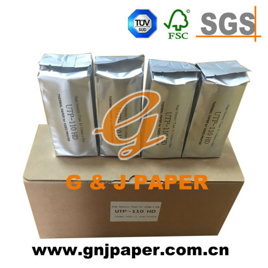 Waterproof Ultrasonic Thermal Paper Roll for Ultrasoic Printer Printing pictures & photos