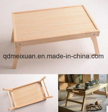 Solid Wood Folding Table.Contracted Solid Wood Real Wood Folding Wooden Folding Table