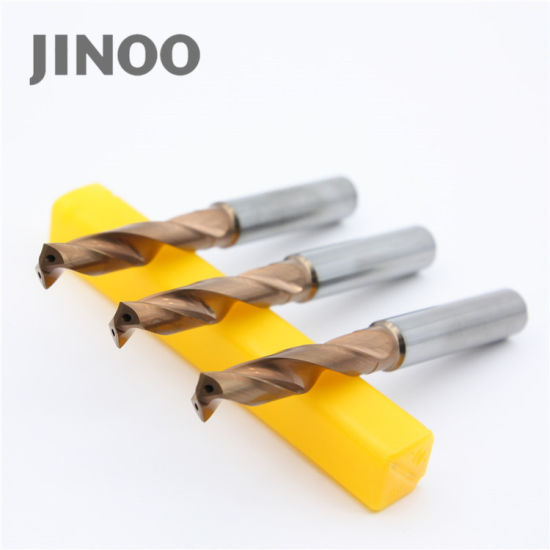 Jinoo High Performance Tungsten Solid Cemented Carbide Drill Bits pictures & photos