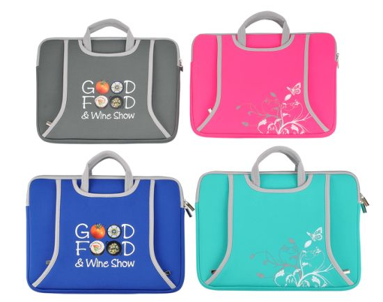 Waterproof Fashion Design Customized Printed Neoprene Laptop Sleeve Bag