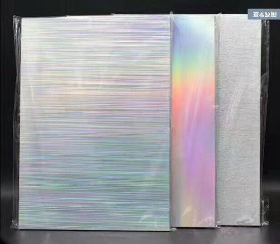 China PET Sheets Best Quality Wholesale Hologram Transparent