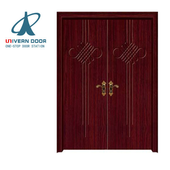 China Luxury Double Teak Wood Main Door Designs China Teak Wood