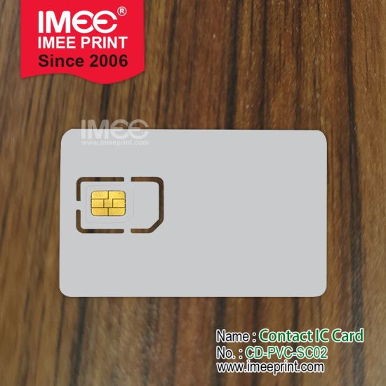 Imee Custom Design Printing SIM Smart Access Control Card Chips
