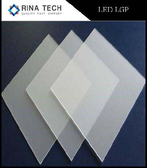 Transparency Custom Shape Factory Price Light Guide Sheet