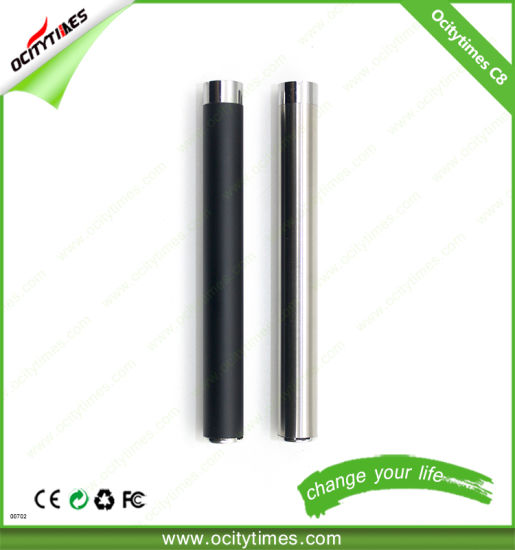 280mAh Button Less E-Cigarette 510 Thread Ecig Battery with USB Charger