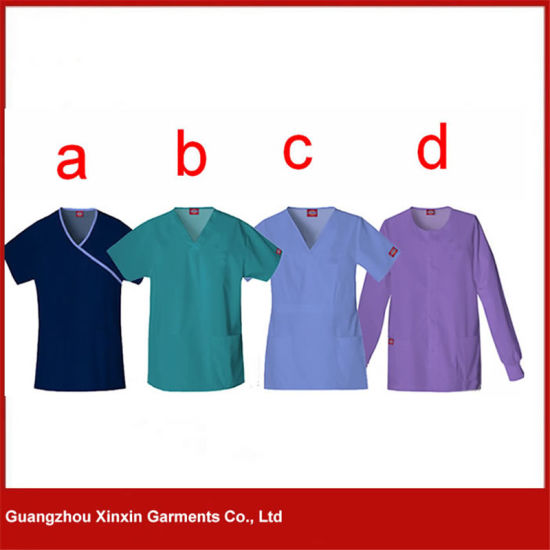 Custom Made Good Quality Working Uniform for Hospital (H14) pictures & photos