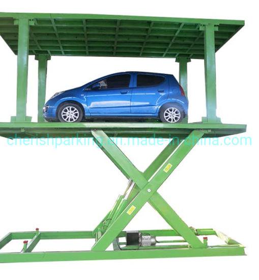 Hot Sale Two Layer Scissor Parking Platform