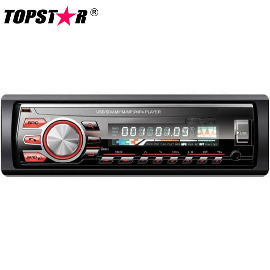 One DIN Detachable Panel Car Radio with USB Player pictures & photos