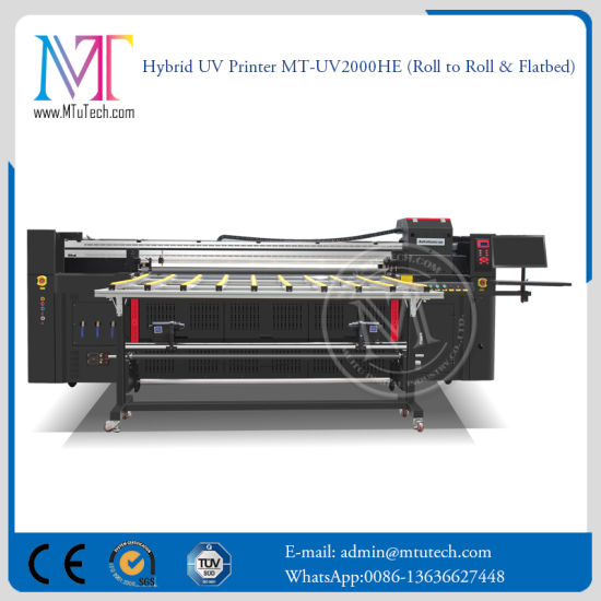China Newest Wide Format UV Flatbed Printer Mt-UV2000 for Aluminum pictures & photos