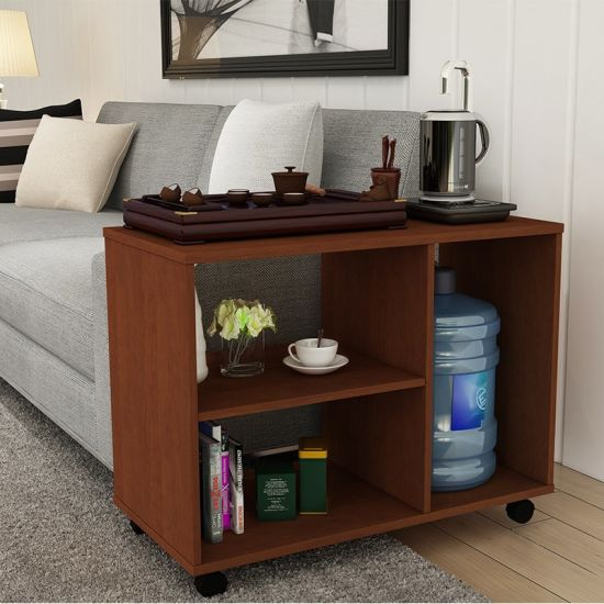 Furniture Modern Wooden End /Coffee Table, Movable Side Table