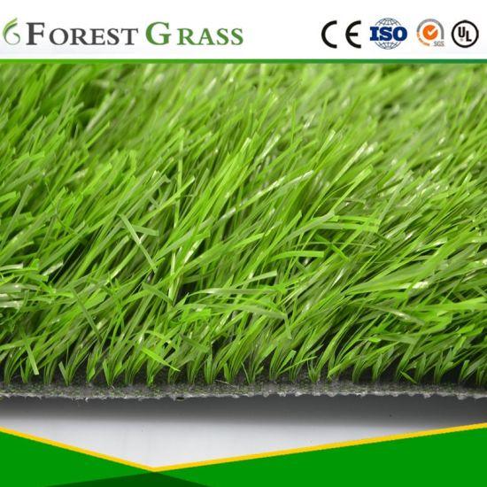 Stem Shape Yarn Football Tennis Soccer Artificial Grass (SB)