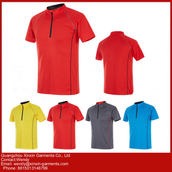 Customized Short Sleeve Sport Polo Shirts Manufacturer (P94) pictures & photos